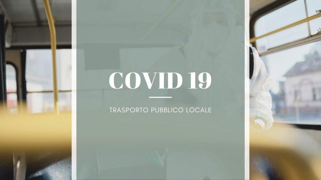 Trasporto Pubblico Locale: misure di contenimento COVID 19