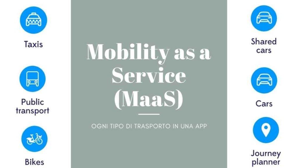 Trasformazione digitale nei trasporti: Mobilità as a service
