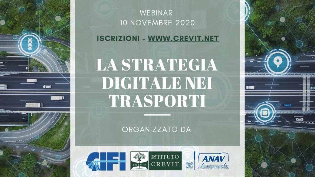 Strategia digitale nei trasporti - webinar con CIFI ed ANAV
