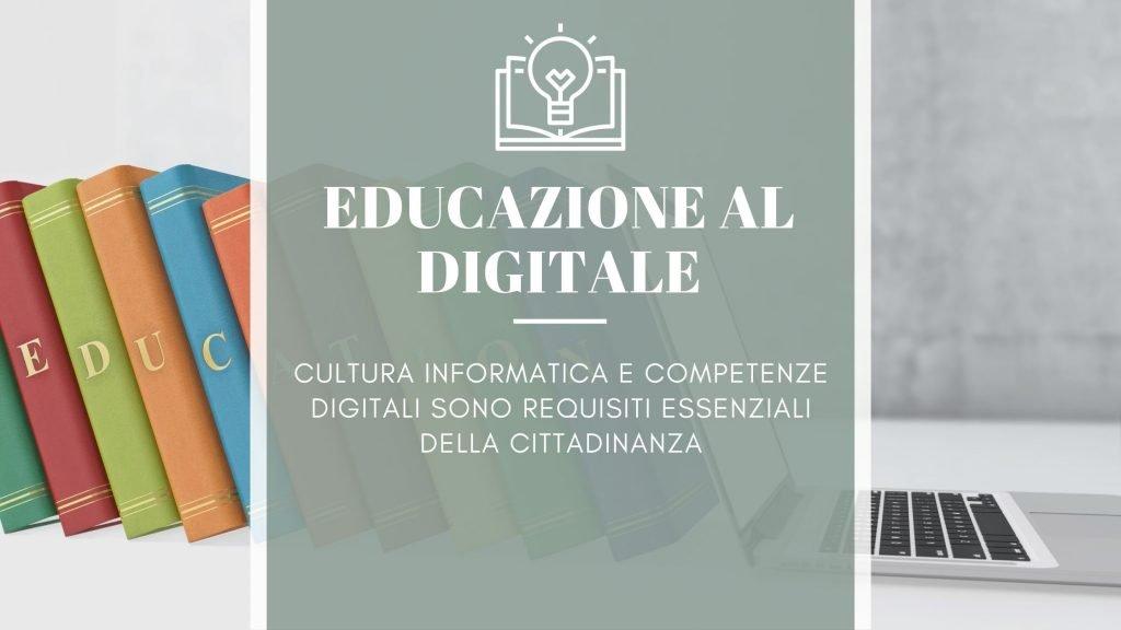 Repubblica digitale: principio1 - educuazione digitale