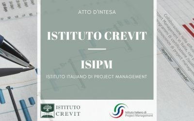 Project Management: Atto d'intesa ISIPM ed Istituto CREVIT del 8 gennaio 2021