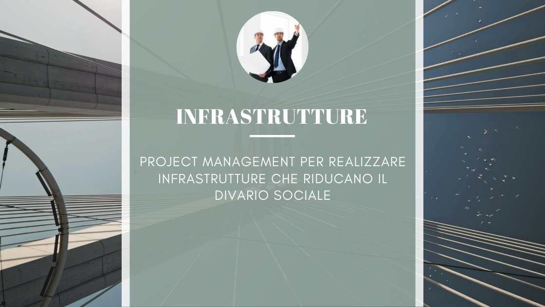 Project Management per realizzare infrastrutture
