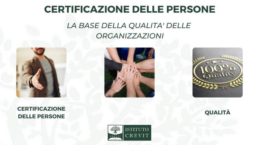 Certificazione delle persone e qualità delle organizzazioni