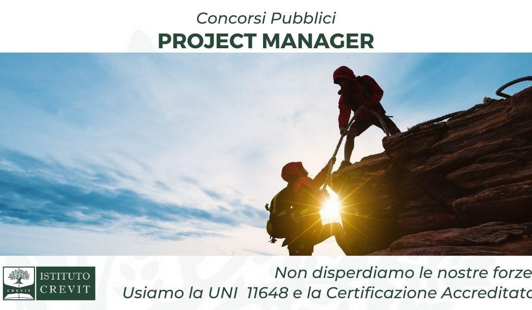 Concorsi Project Manager: le garanzie di ACCREDIA e della UNI 11648:2016