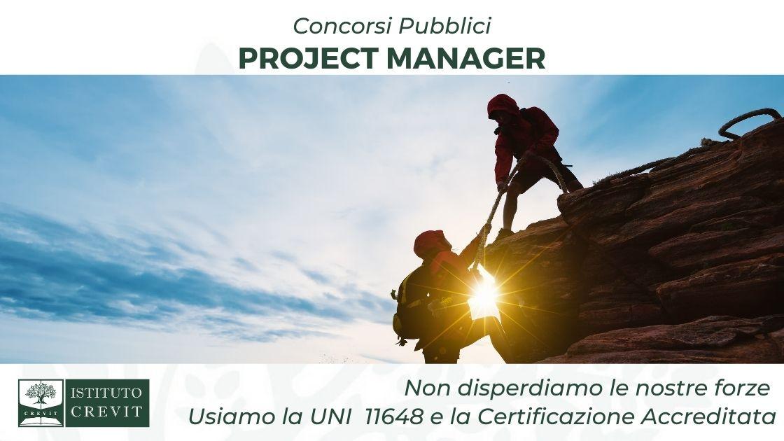 concorsi project manager - usiamo UNI e certificazioni accreditate