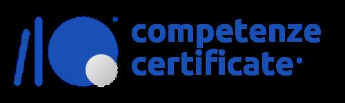 competenze certificate logo